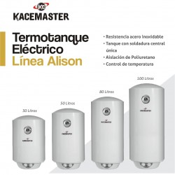 TERMOT. ELECTRICO 100 LTS KACEMASTER -3000 WATTS- CONEX.INF.